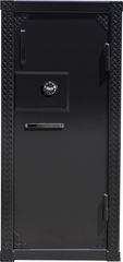 BLACK DIAMOND PLATE gun SAFE best looking