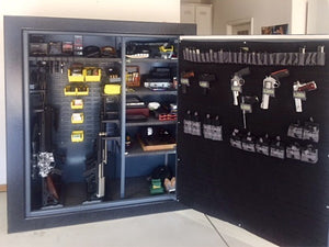 custom gun safe interior