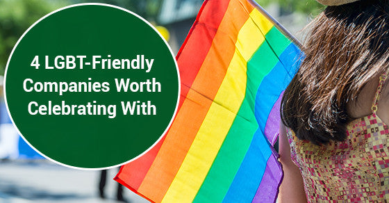 Pride Month Is Next Week And These 4 LGBT-Friendly Companies Are Worth Celebrating With