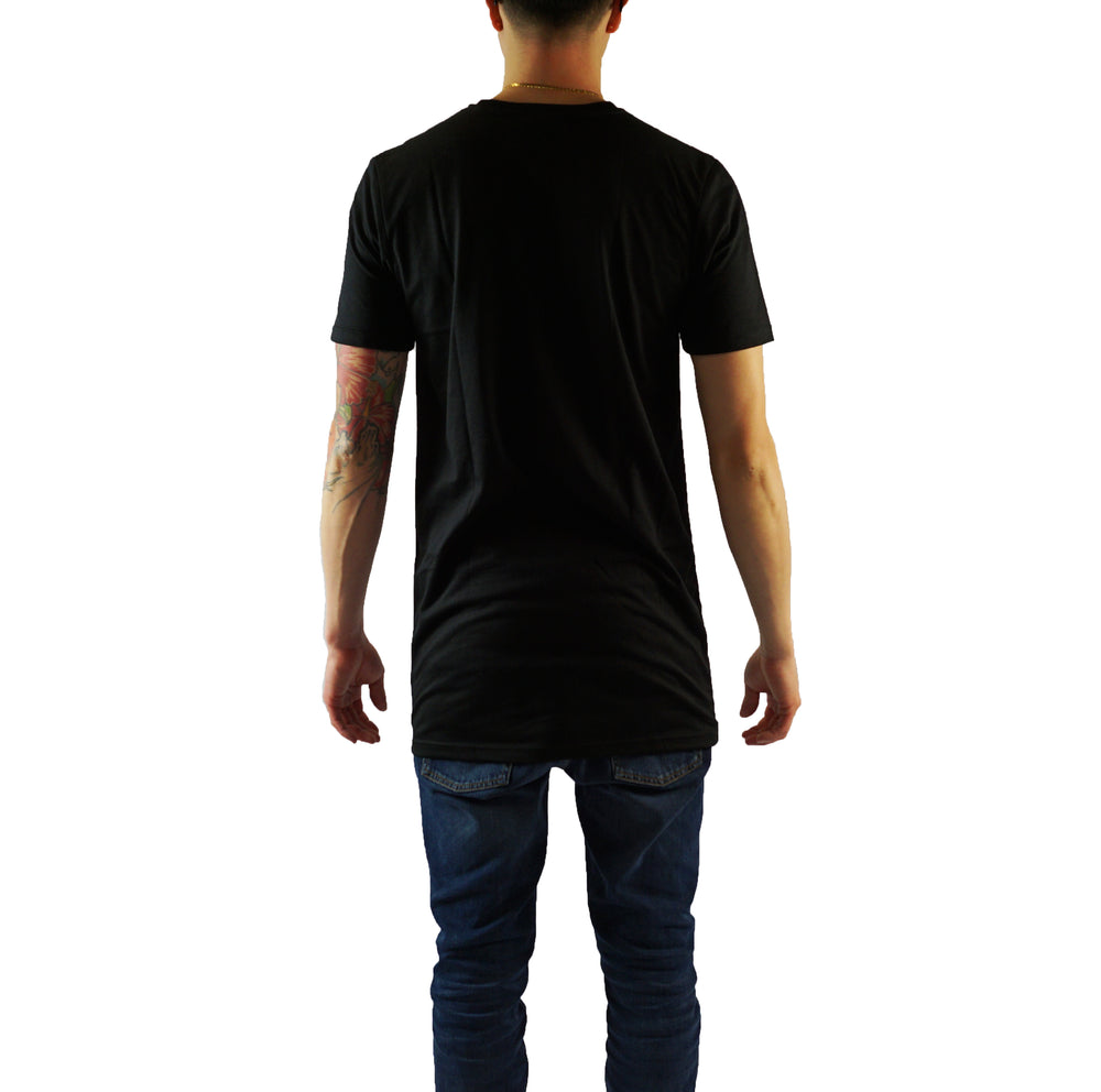 Straight Cut Tall Tee - Black & White - LD West