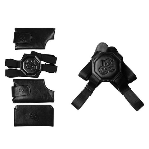 Black Holster & Non Stretch Nylon Strap Bundle