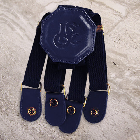 LD West® Elastic Strap - Navy - LD West