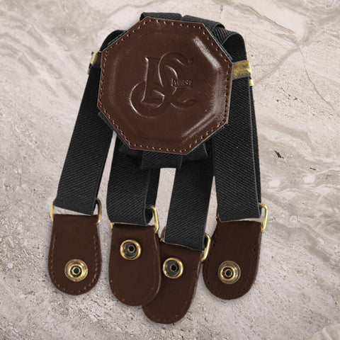 LD West® Elastic Strap - Brown - LD West