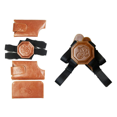 Cognac Holster & Non Stretch Nylon Strap Bundle