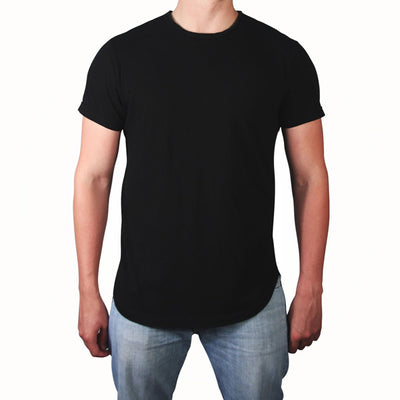 Scooped Tee - Black - LD West