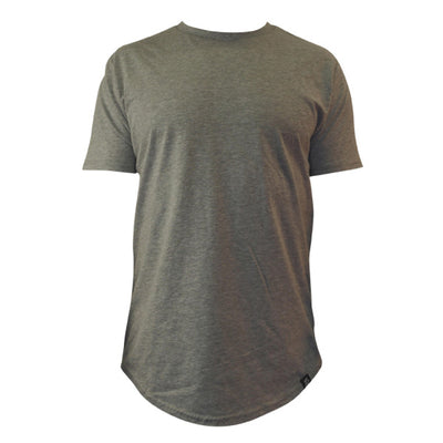 Scooped Tee - Gray - LD West