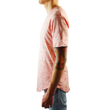 Scooped Tee - Vintage Heather Pink - LD West