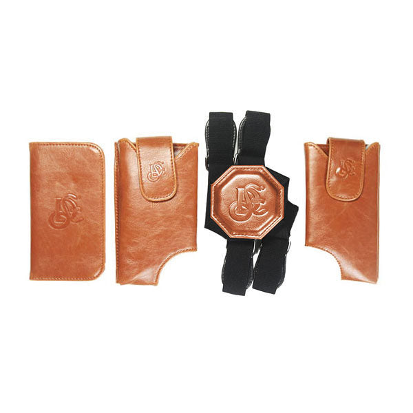 Cognac Holster & Non Stretch Nylon Strap Bundle - LD West