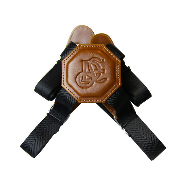 Non Stretch Nylon Holster Strap - Cognac - LD West