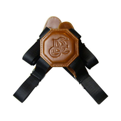 Non Stretch Nylon Holster Strap - Cognac