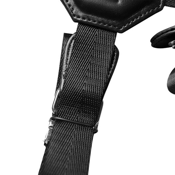 Motorcycle Bundle - Black Holster, Nylon Strap & Sport Chest Strap - LD West
