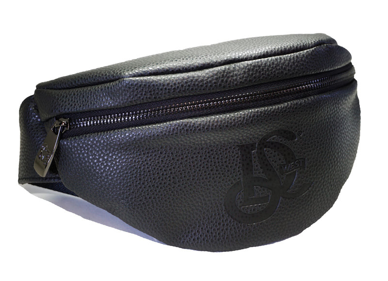 LD West Black Chest Pack/Fanny Pack