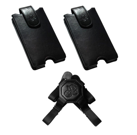 V2 Dual Phone Holster Set With Nylon Strap - LD West