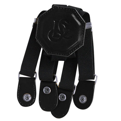Elastic Suspender Holster Strap - Black - LD West