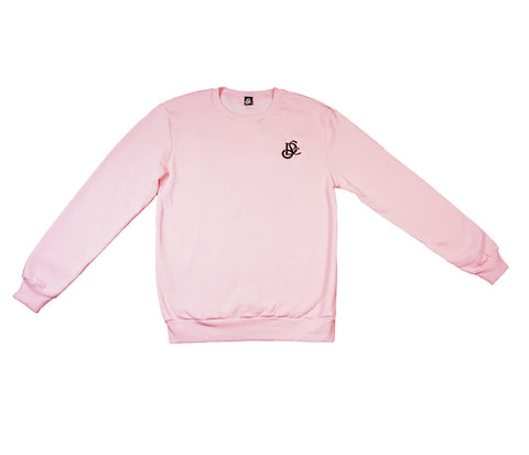 Varsity Sweater - Pink - LD West