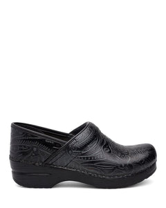 Dansko Women's Professional Black Tooled Clogs - Company Store Uniforms