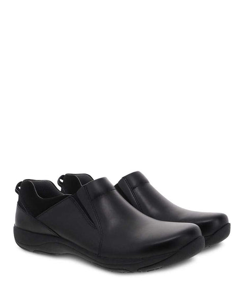 Dansko Neci Black Leather Shoe
