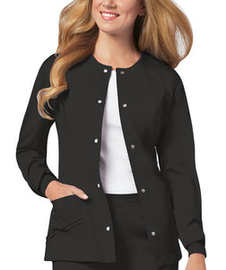 Cherokee LUXE Snap Front Warm-Up Scrub  Jacket - Company Store Uniforms