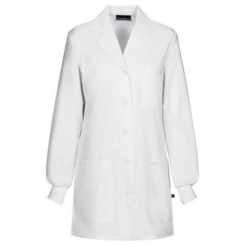 "Cherokee 32"" Lab Coat with Knit Cuffs - Company Store Uniforms"