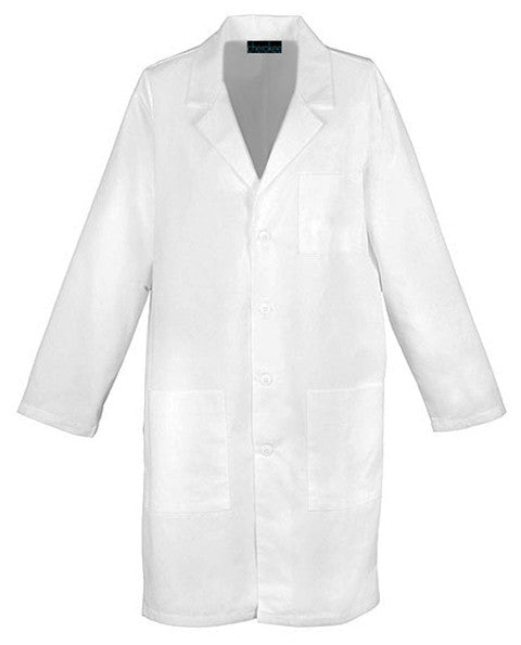 "Cherokee 40"" Unisex Lab Coat with Side Access Openings - Company Store Uniforms"