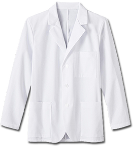 "White Swan Men's 30"" Consultation Labcoat"