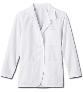 "White Swan Ladies 28"" Consultation Labcoat - Company Store Uniforms"