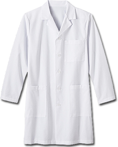 "White Swan Men's 38"" Labcoat - Company Store Uniforms"