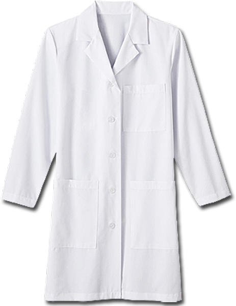 "White Swan Ladies 37"" Labcoat - Company Store Uniforms"