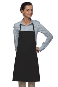 Daystar No Pocket Bib Apron with Non-Adjustable Neck - Company Store Uniforms