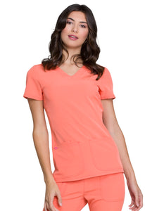 Heartsoul Pitter-Pat V-Neck Scrub Tops - Company Store Uniforms
