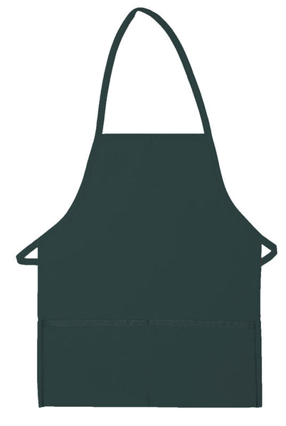 Daystar Two Pocket Promo Bib Apron Non-Adjustable Neck - Company Store Uniforms