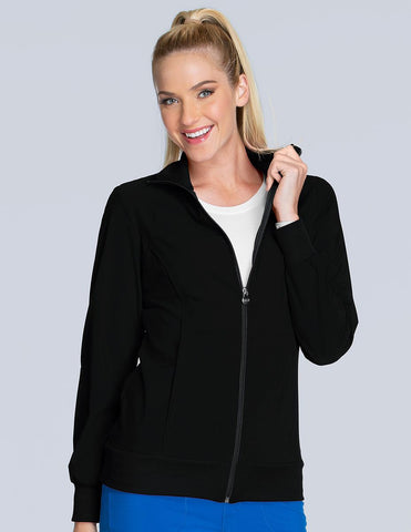 Infinity Zip Front Warm-Up Jacket
