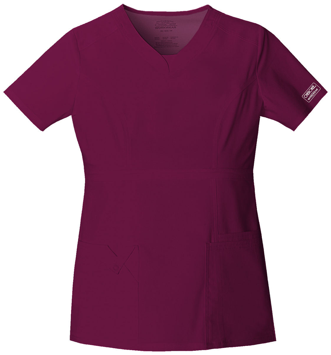 Cherokee Workwear Premium Core Stretch V-Neck Top - Company Store Uniforms