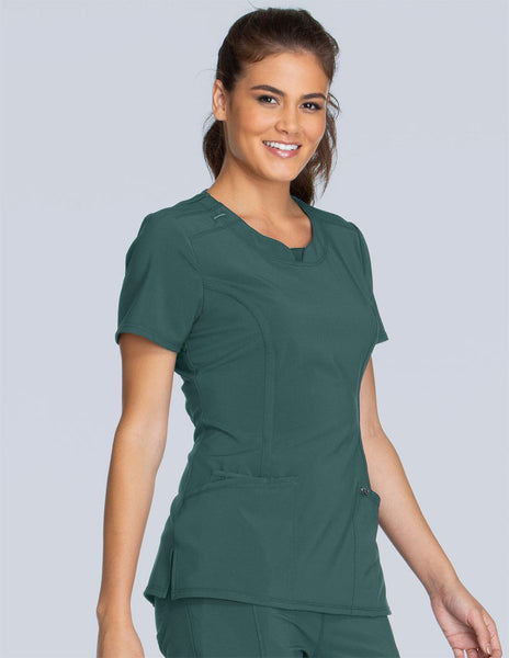 Infinity Round Neck Top - Company Store Uniforms