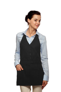 Daystar Three Pocket Single Breasted Apron - Company Store Uniforms