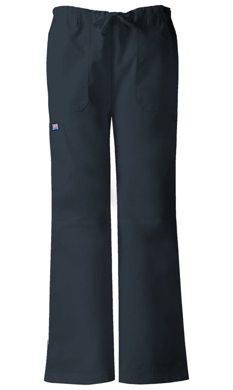 Cherokee Authentic Workwear Low Rise Drawstring Cargo Pant in Pewter - Company Store Uniforms
