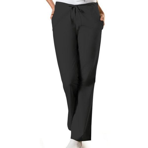 Cherokee Workwear Originals Flare Leg Drawstring Pant (Petite Length) - Company Store Uniforms