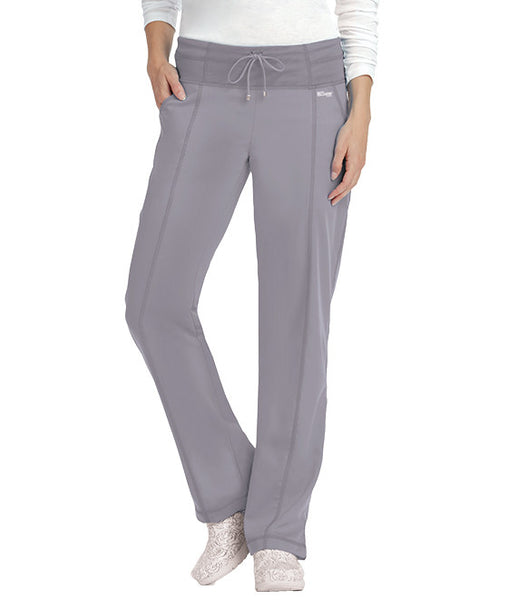 Grey's Anatomy Active Drawstring Yoga Knit Scrub Pants (Petite)
