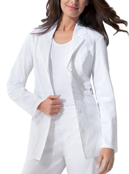 "Dickies 28"" Lab Coat in White - Company Store Uniforms"
