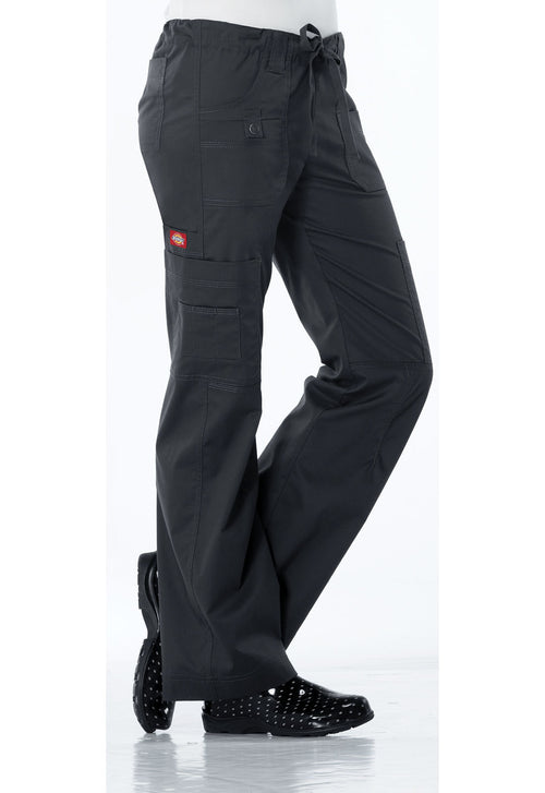 Dickies GenFlex (Contrast) Low Rise Drawstring Cargo Scrub Pant