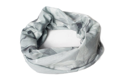 Banded Gray Bouquet - Infinity Headwrap - Company Store Uniforms