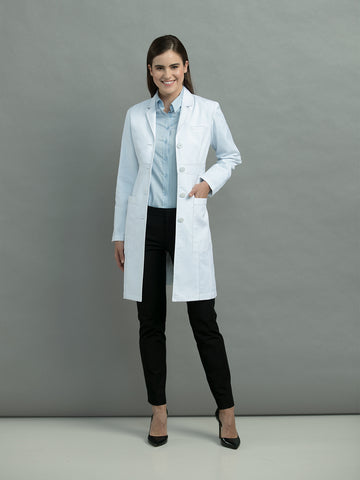 Med Couture Boutique Empire Lab Coat