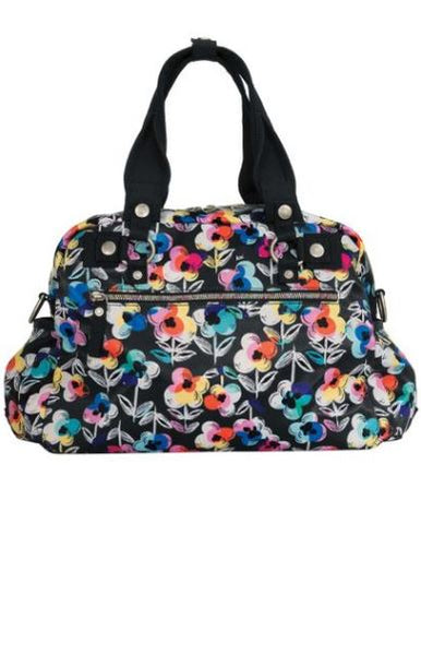 Koi Covered In Flowers Printed Utility Bag - Company Store Uniforms