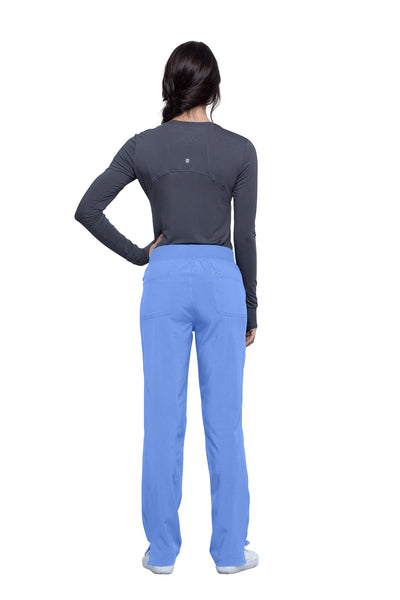 New Style! Infinity Mid Rise Tapered Leg Pull-on Pant
