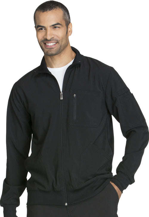 Men's Infinity Zip Front Warm-up Jacket
