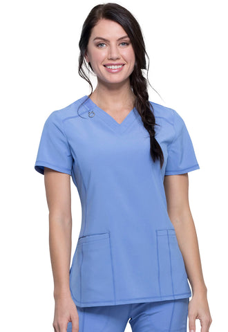 New Style! Infinity Contemporary V-Neck Top - Company Store Uniforms