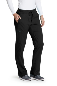 Grey's Anatomy Spandex Stretch Mid-Rise Pant