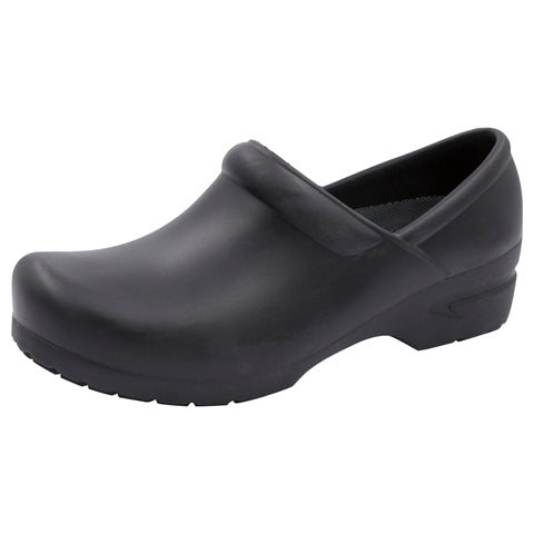 Anywear Guardian Step-In Clog (Available in Black & White) - Company Store Uniforms