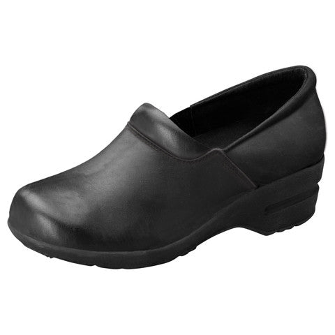 Cherokee Footwear Fashion Leather Step in Clog - Company Store Uniforms