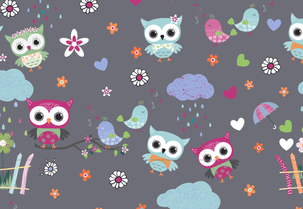 Zoe + Chloe So Owl-Dorable Print Top - Company Store Uniforms